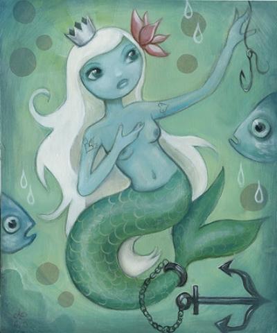 Mermaid by CJ Metzger