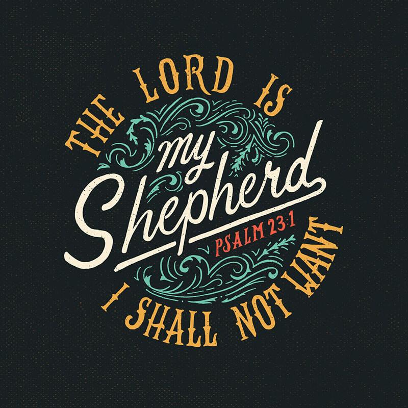 Psalm 23:1