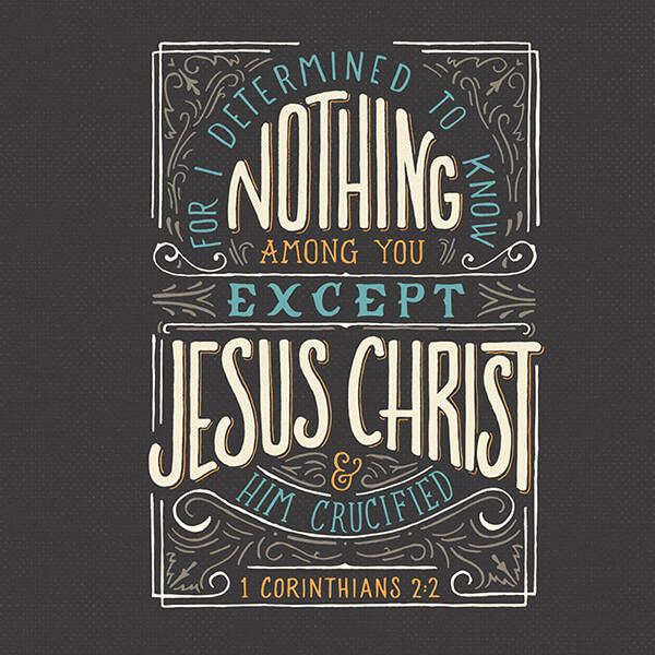 1 Corinthians 2:2