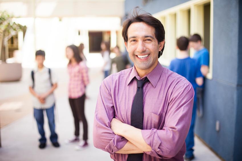 teacher-at-school
