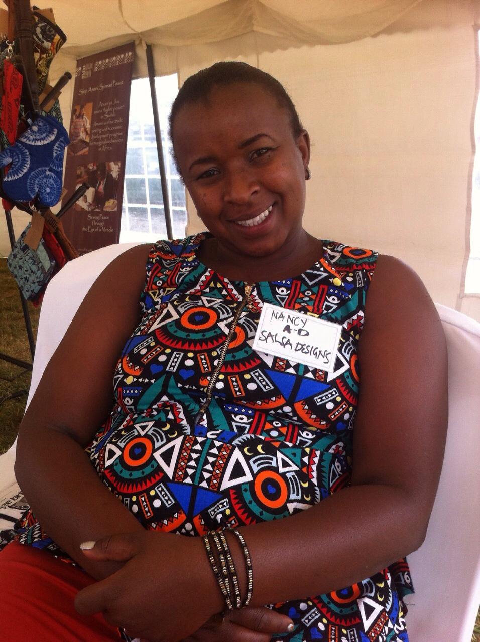 Nancy at the Akili Dada social impact summit