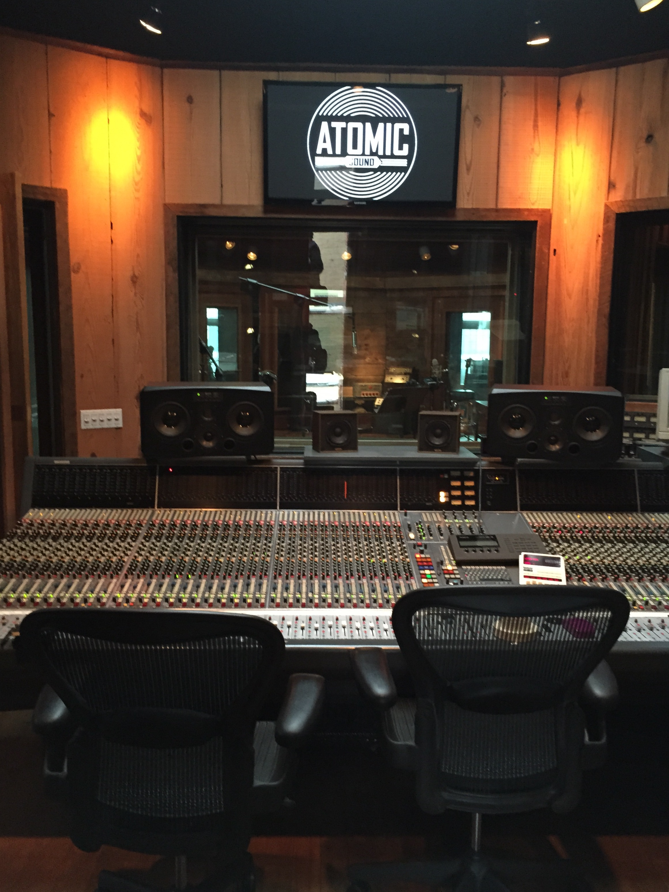 Atomic Sound in Brooklyn;where The Paisley Fields recorded Oh These Urban Fences...