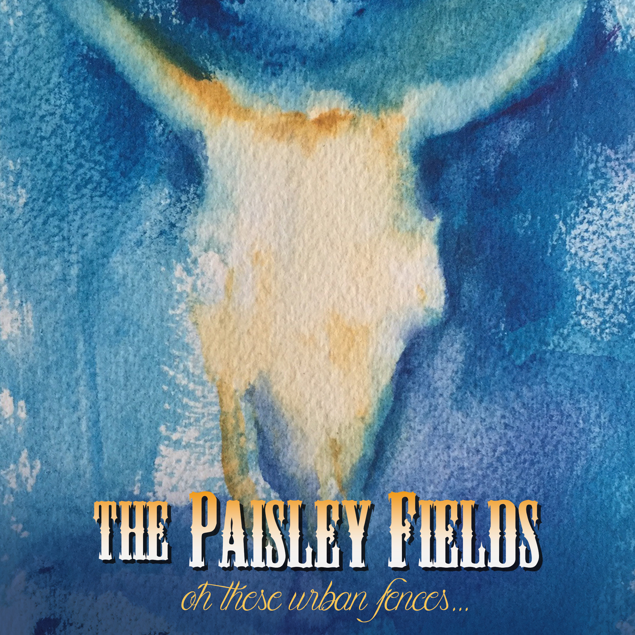 Cover art for The Paisley Fields  Oh These Urban Fences... by Julia McGinley. Design by Derek Bishop