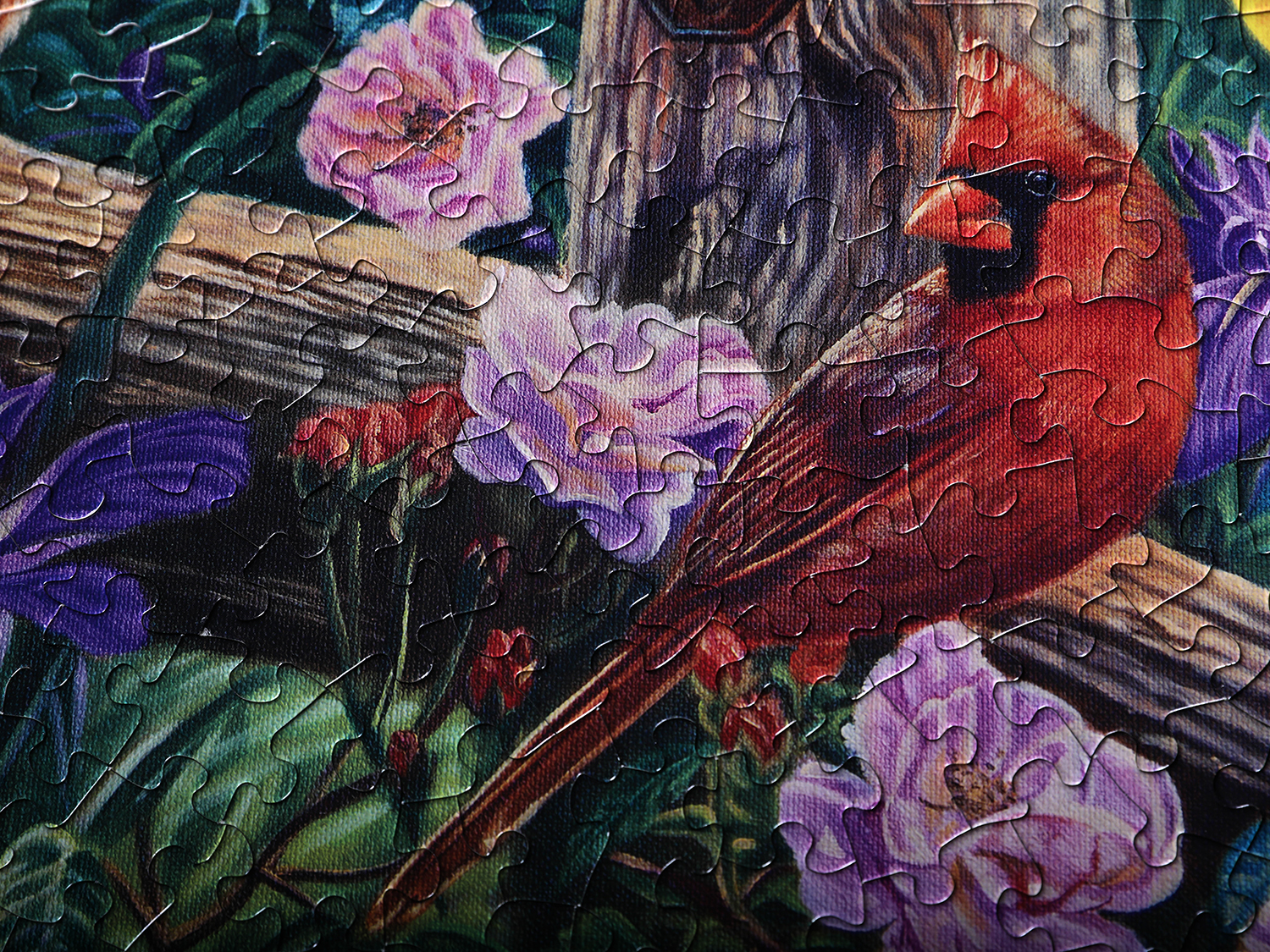 Red Cardinal Jigsaw Puzzle