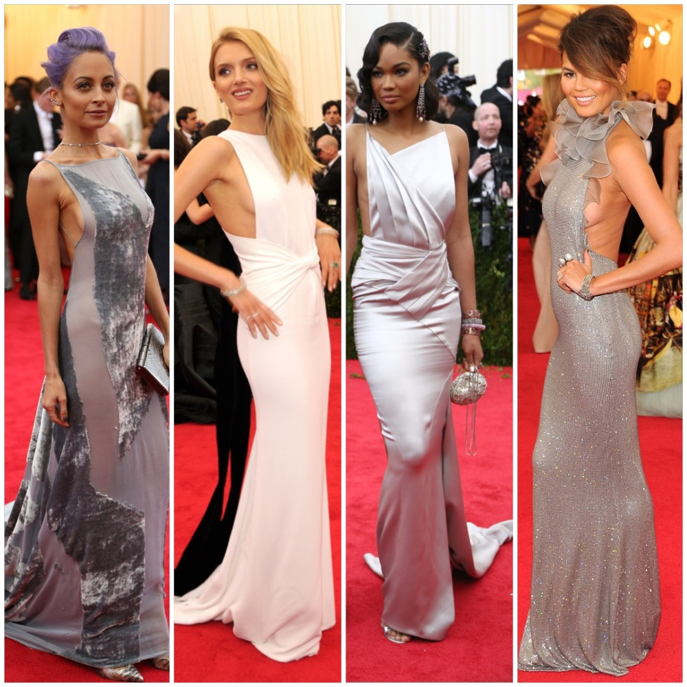 Side boob and the girls who wore it.  left to right: Nicole Richie, Lilly Donaldson, Chanel Iman, Chrissy Teigan