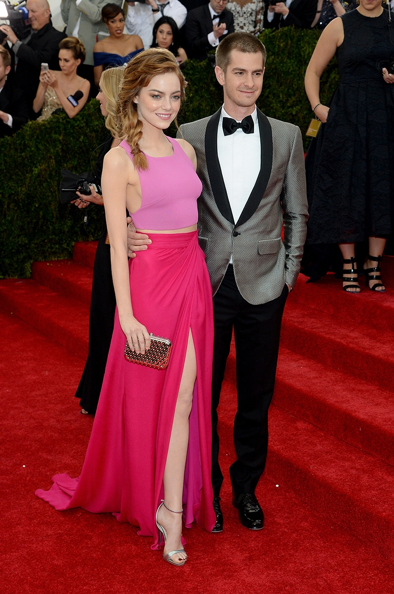 Emma Stone and date.
