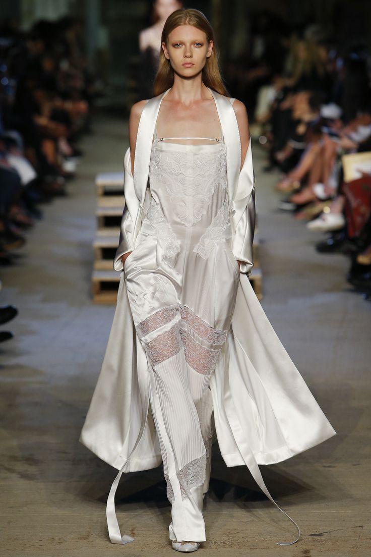 Givenchy SS16 - Duster & dangly bits
