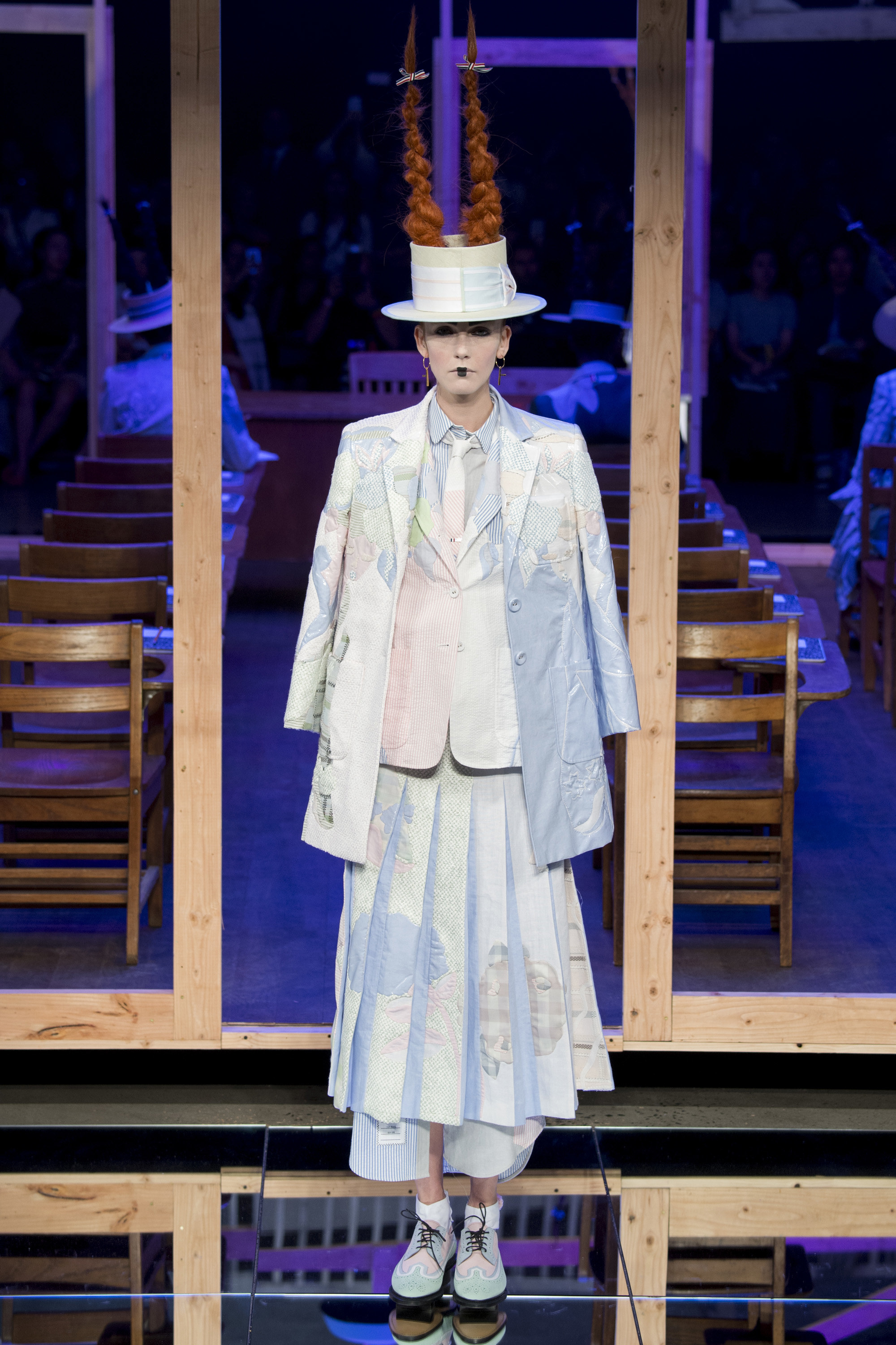 Thom Browne SS16 - Pleats & terror