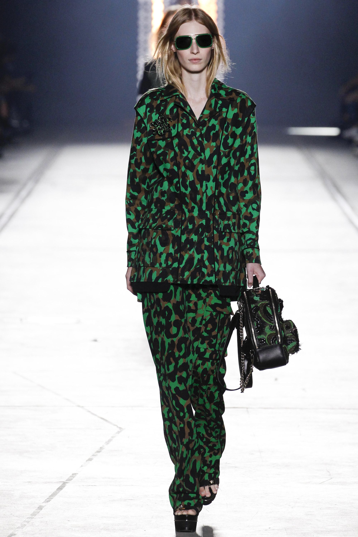 Versace SS16 - Leopard print