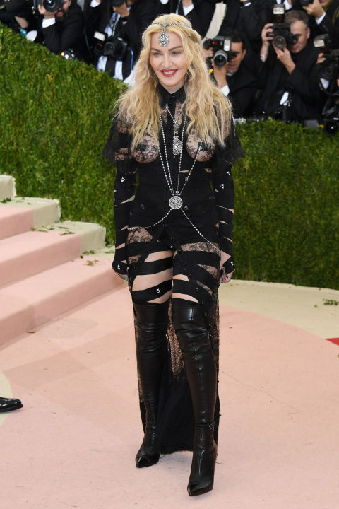 Madonna in Moschino