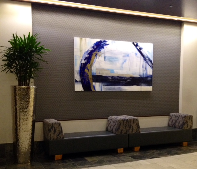 Custom Abstract, Hyatt Hotel