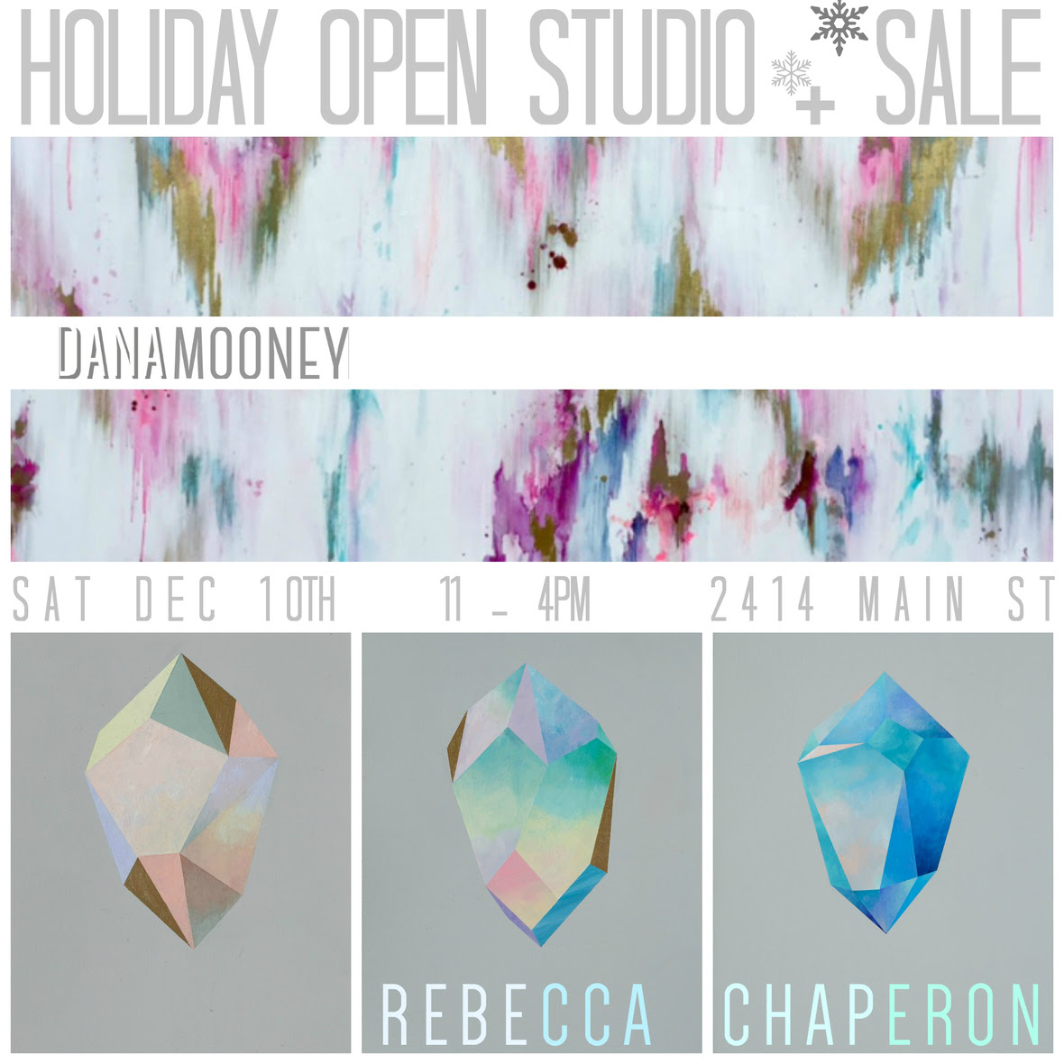 Holiday Open Studio Sale