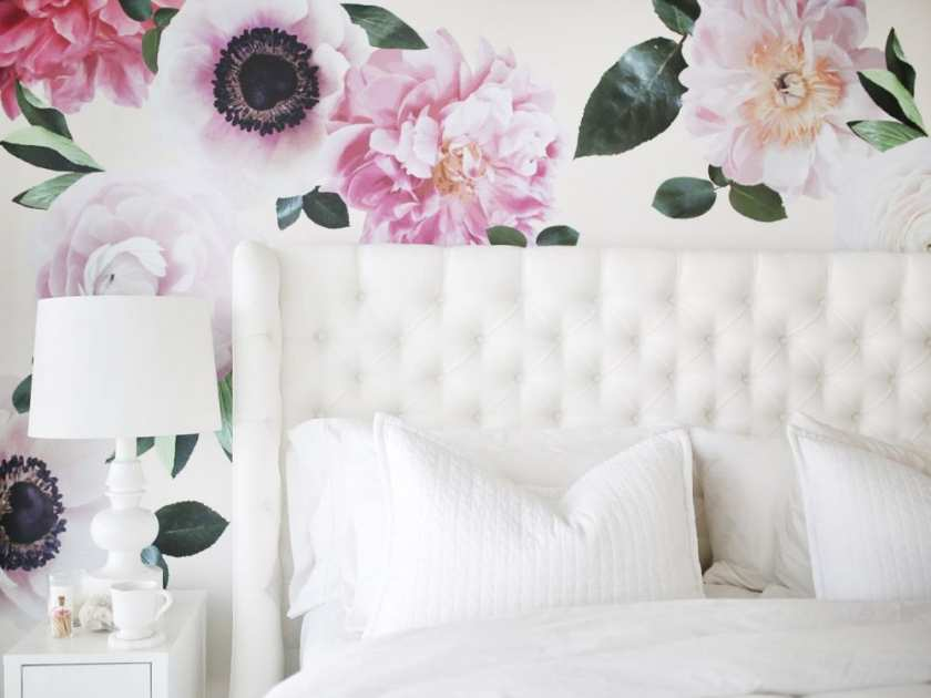 Floral Decals by Urban Walls -