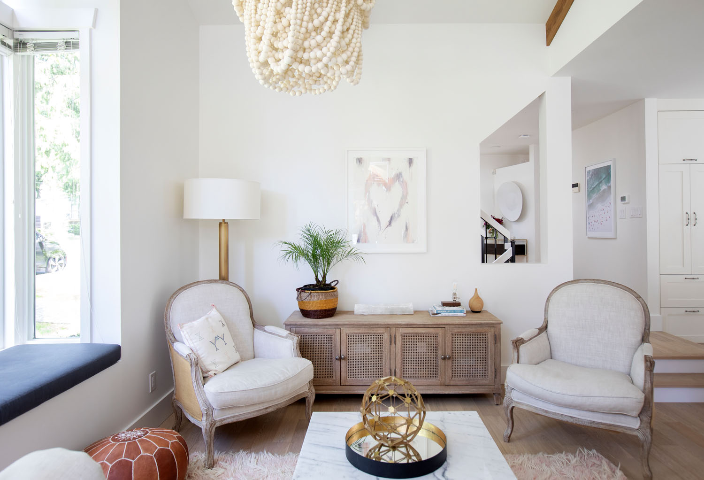 Paperworks Ikat Heart, for Interior Designer Rachel Harrison