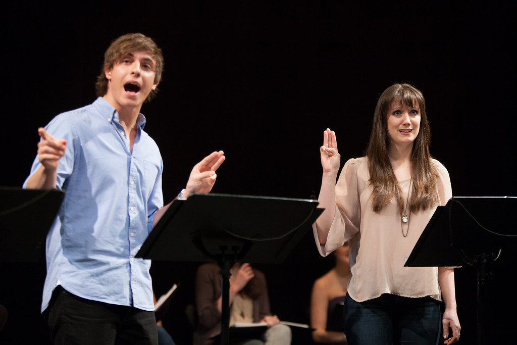 Derek Klena and Shannon O'Boyle in The Story of Jo-Beth by Daniel Maté.