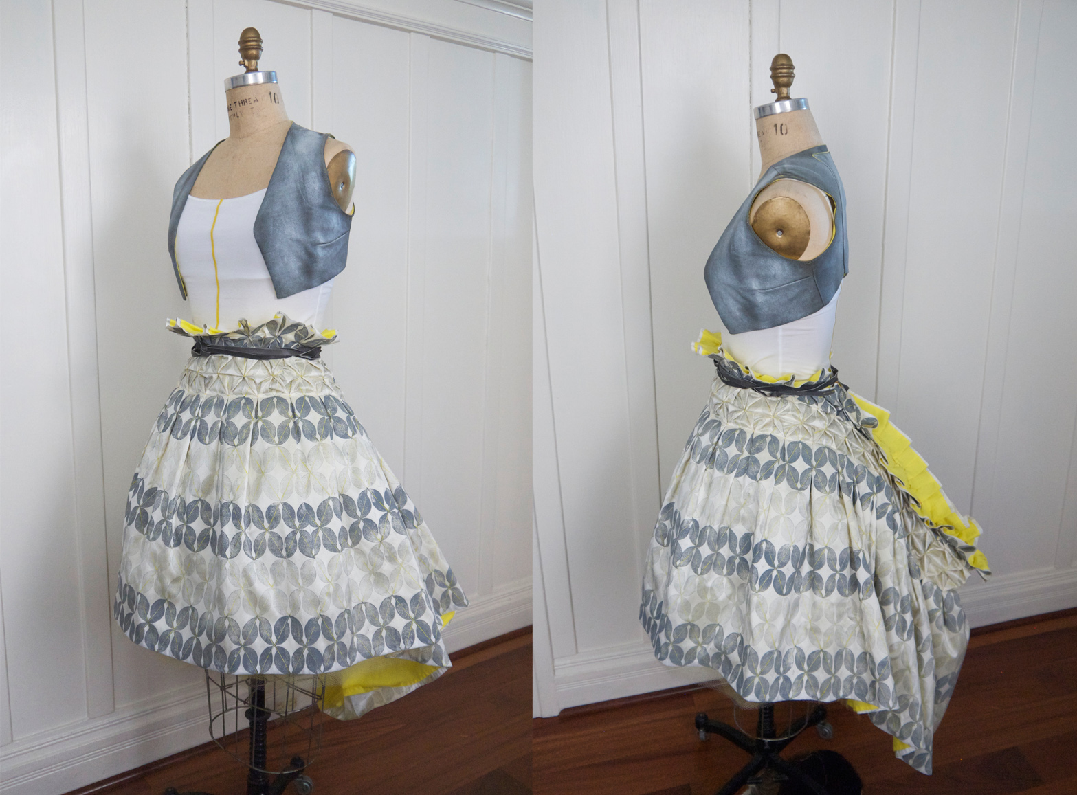 Bustle skirt