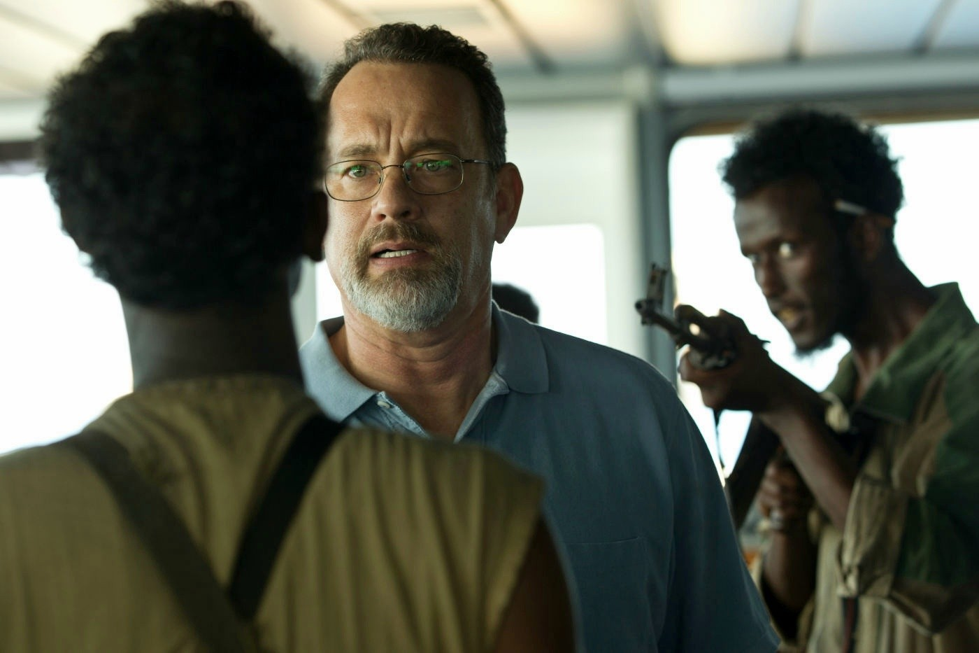 PHOTO CREDIT: Production still from  Captain Phillips.