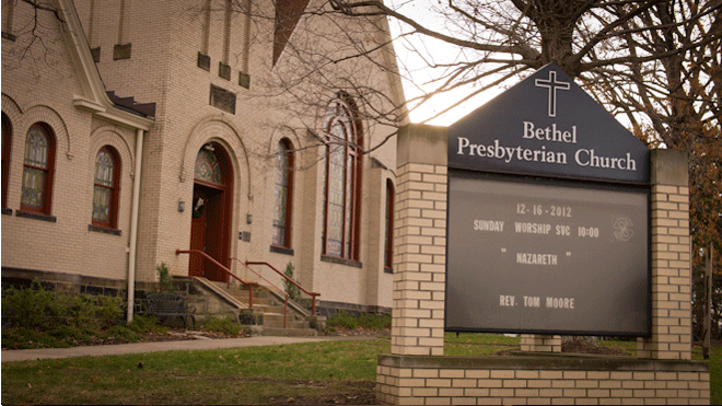PHOTO CREDIT: Above photo of Bethel Presbyterian Church is by Sarah Le - for Reel-Scout, Inc. All rights reserved.