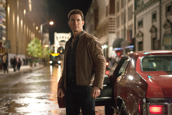 """PHOTO CREDIT: Above photo of Tom Cruise in """"Jack Reacher"""" is from here ."""