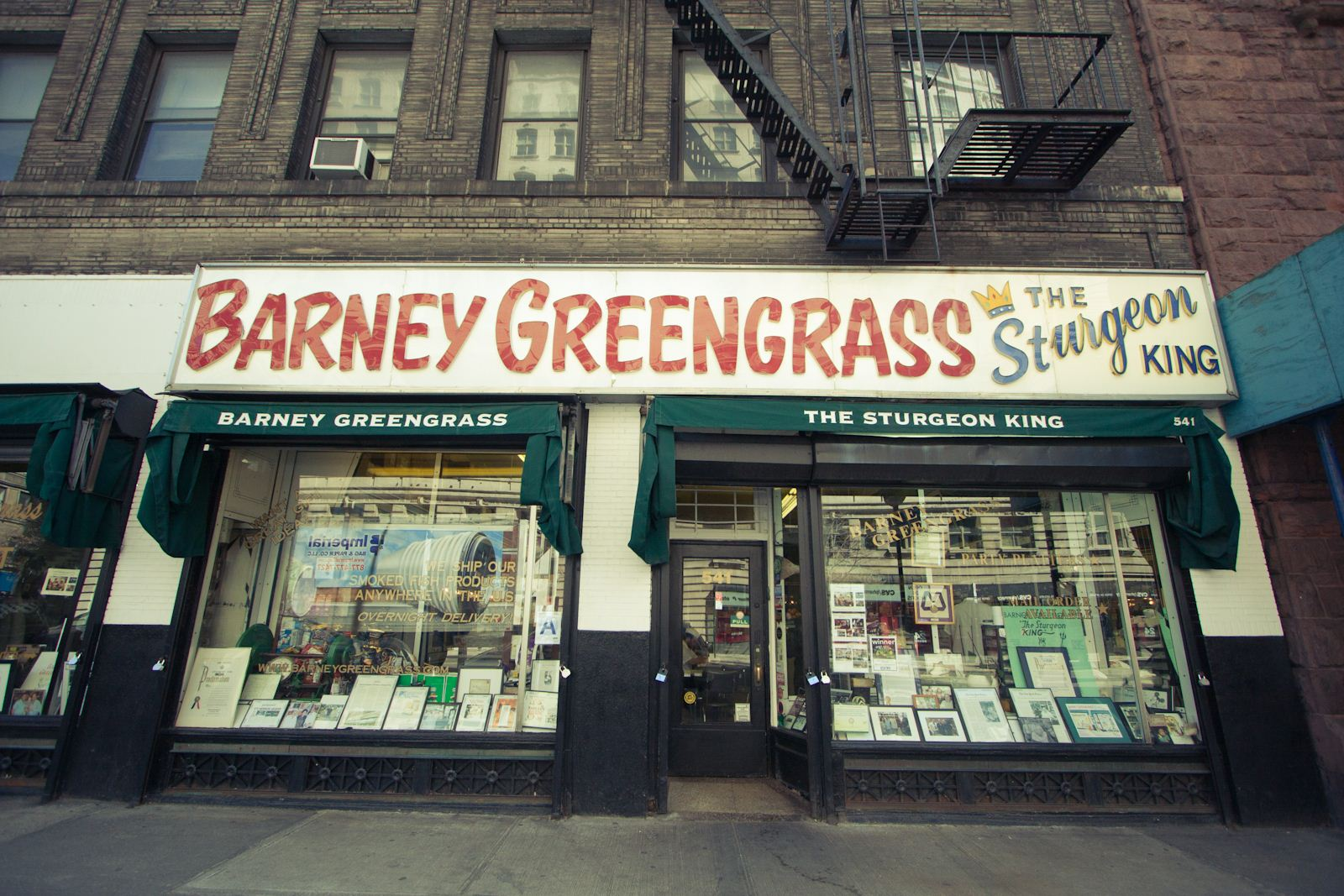 PHOTO CREDIT: Above photo of Barney Greengrass is from  LocationsHub .