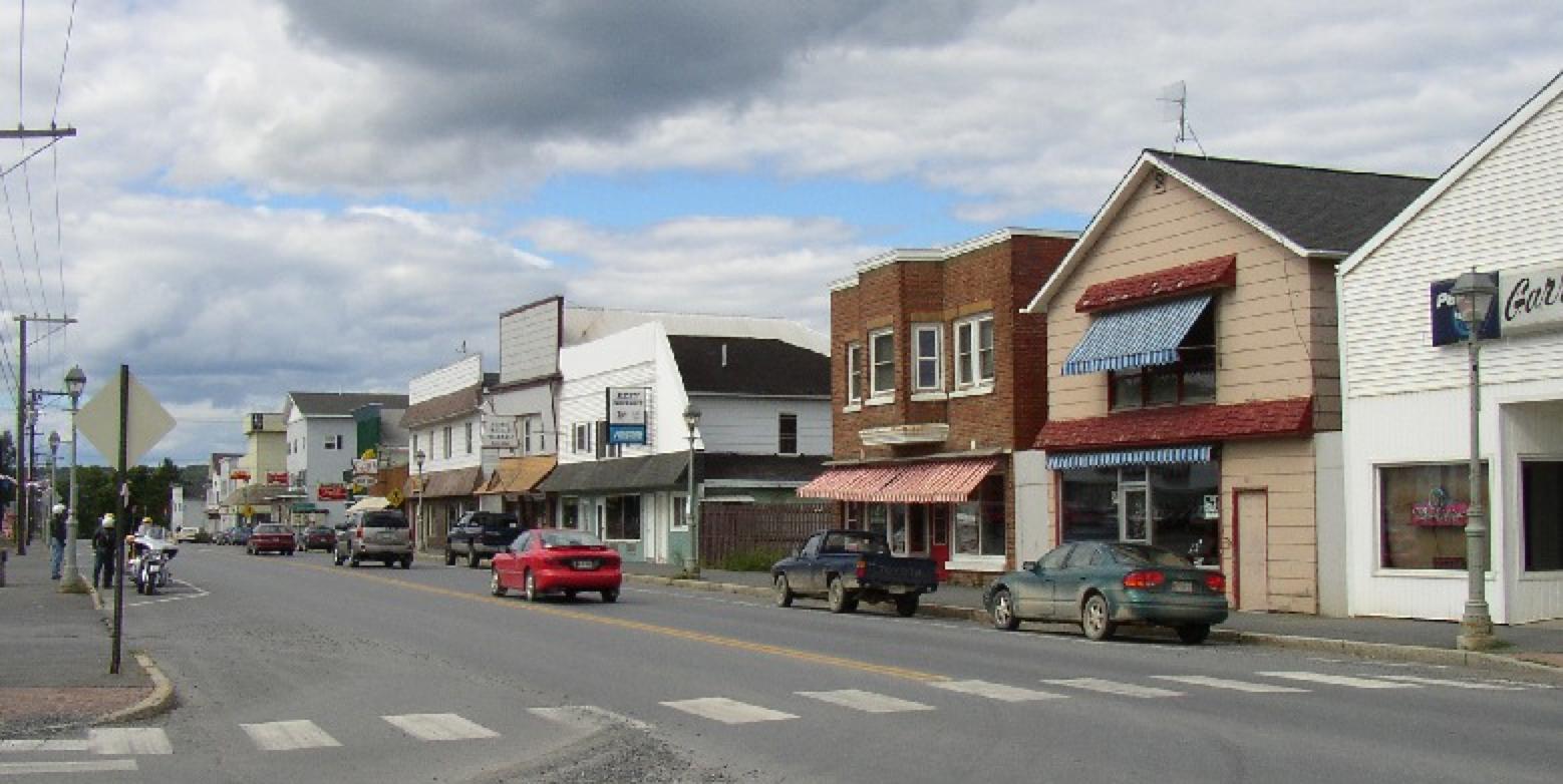 PHOTO CREDIT: Van Buren's Main Street (Route 1) - photo is from  here  .
