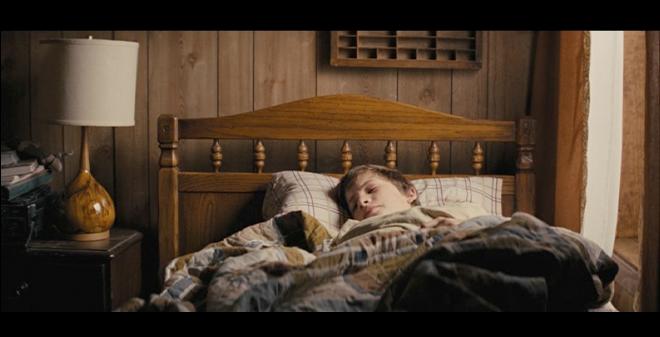 PHOTO CREDIT: Above screenshot is of Ellis sleeping in his own bedroom on his parents' houseboat.