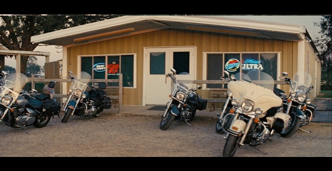 PHOTO CREDIT: Above screenshot is from a scene filmed in front of Gail's Sports Bar.