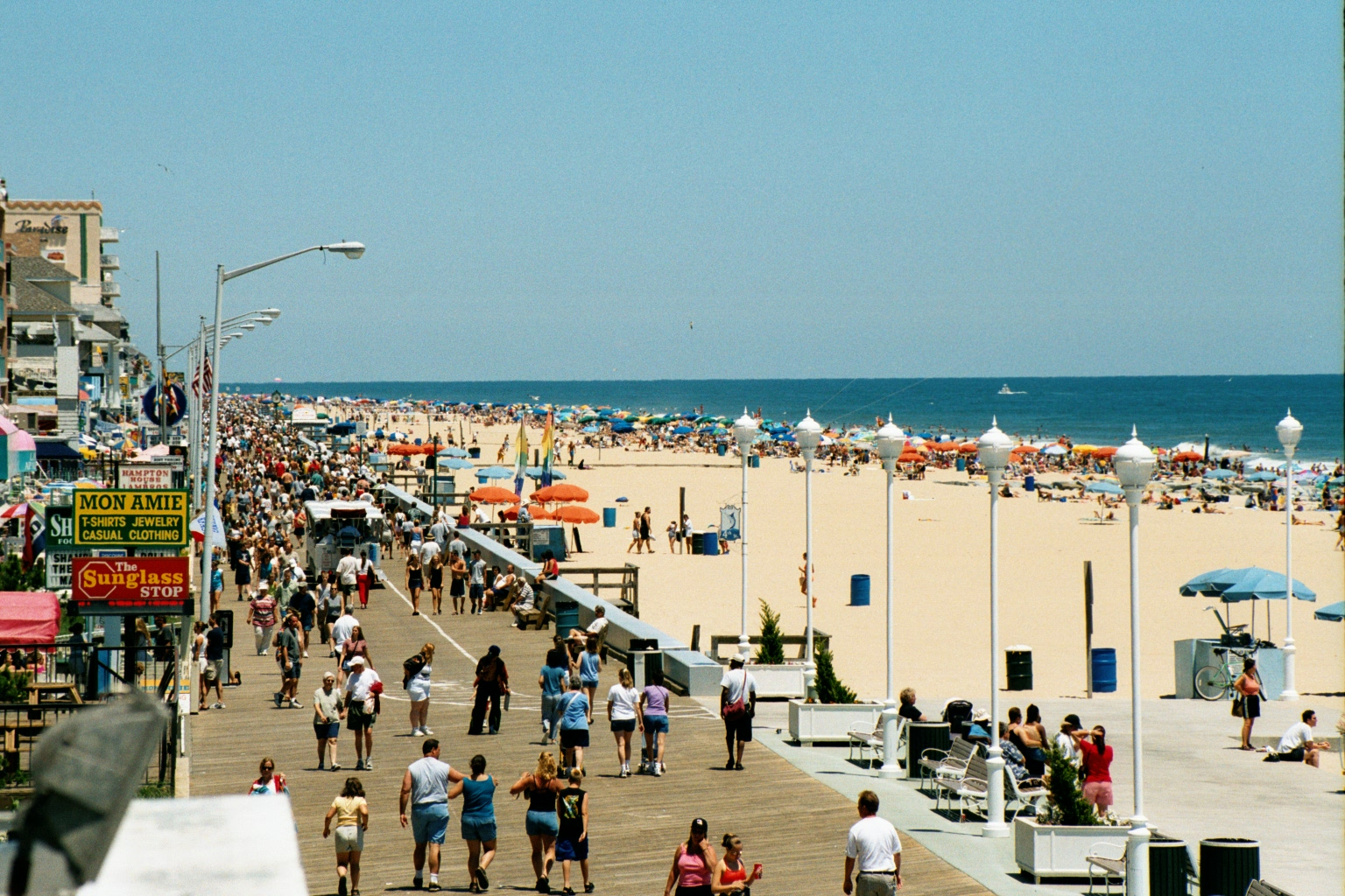 PHOTO CREDIT:  Above photo of Ocean City's boardwalk area is from here .