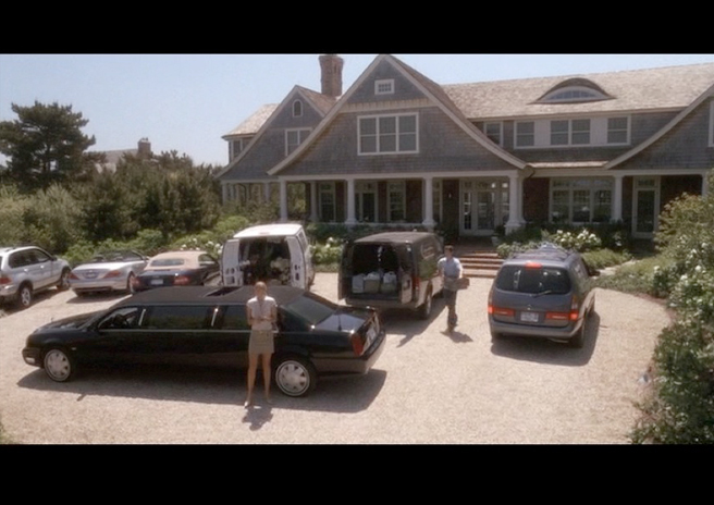 PHOTO CREDIT:  The above is a screenshot of Erica's beach house as Harry and his entourage helped him move in after he gets out of the hospital.