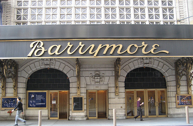 PHOTO CREDIT  :  Above photo of the Ethel Barrymore Theatre is from here .