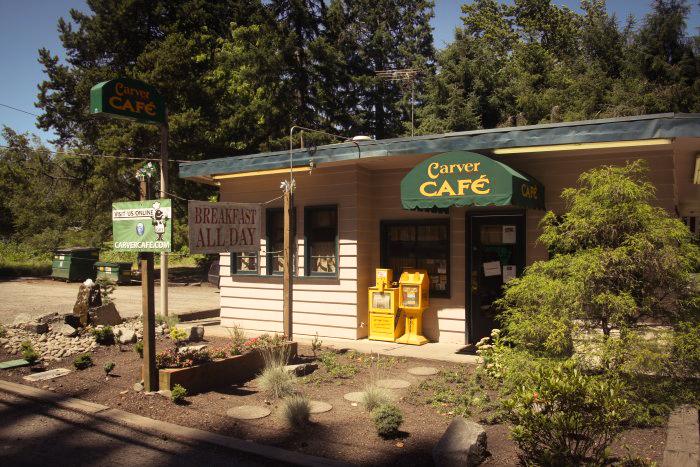 Image of Carver Cafe via  Google .