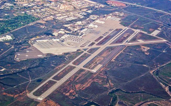 PHOTO CREDIT:  The above image of Miramar Air Station is from here .