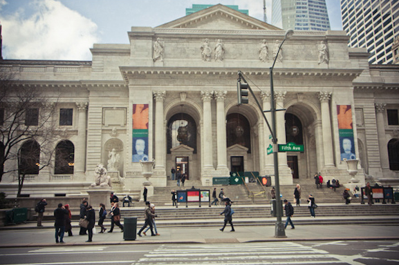 Image of the New York Public Library by Sarah Le for LocationsHub - all rights reserved.