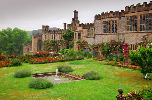 Haddon Hall photo via  Google.