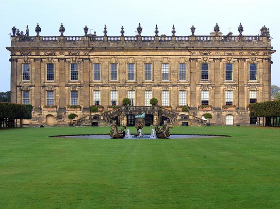 Chatsworth House photo via  Google .
