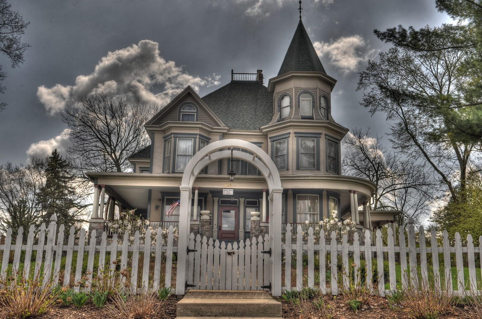 Image of the house where  Groundhog Day  was filmed - via  Google .