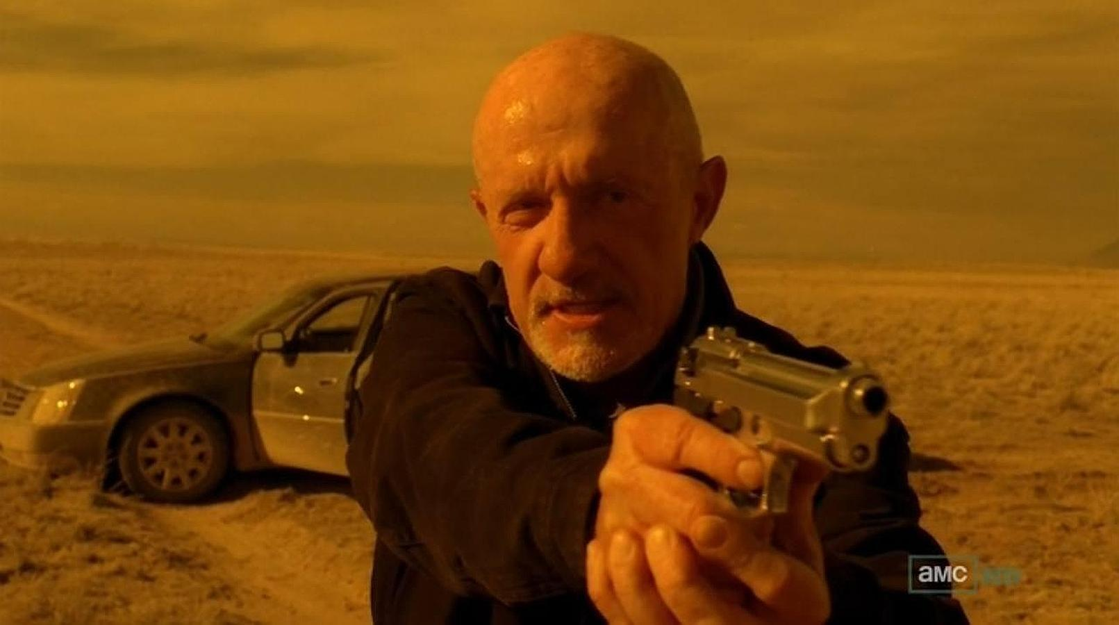 Jonathan Banks (as Mike Ehrmantraut in Breaking Bad) also joins the cast of  Better Call Saul.  Image via  Google .