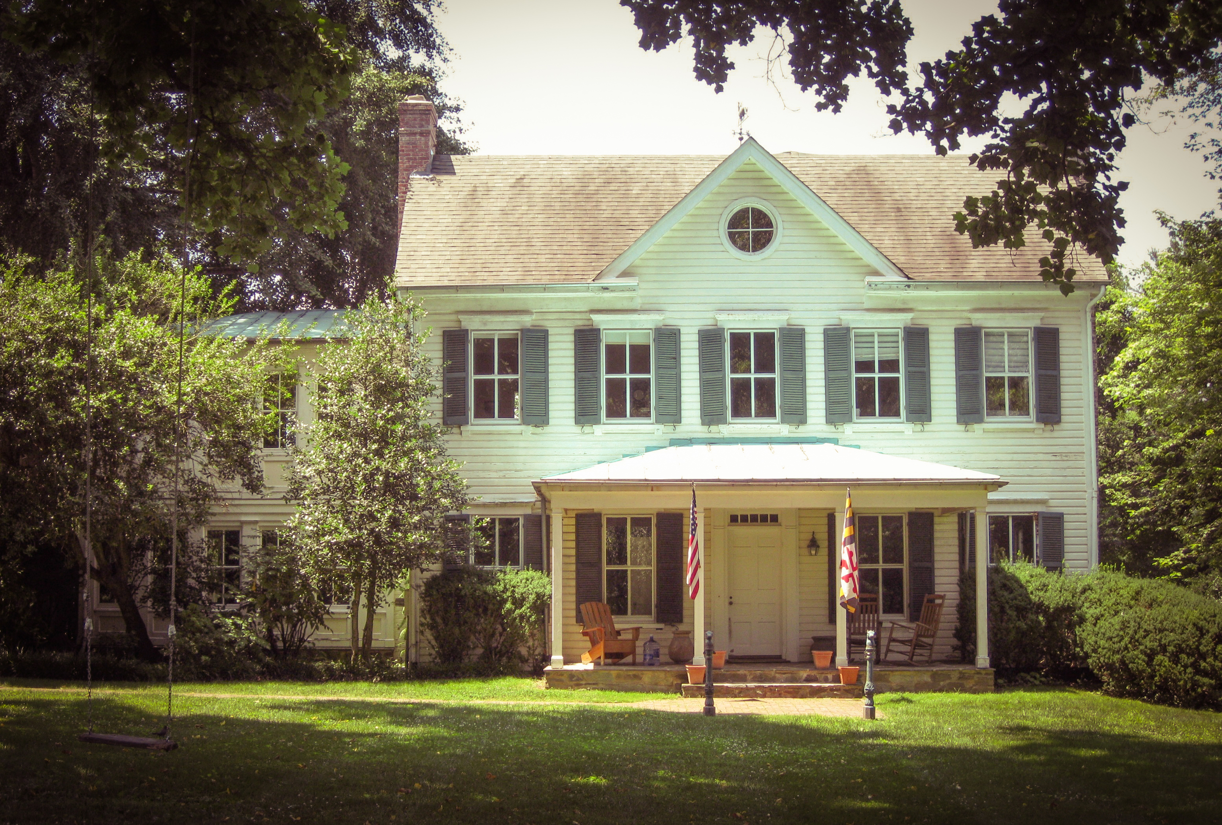 The Conways' house in Potomac, Maryland stars in  Philomena  as Peter Olsson's house - image via  Google .