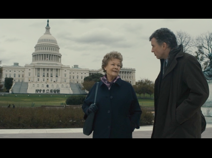 Screenshot: Philomena and Martin on their walk on the National Mall in front of the U.S. Capitol Building.