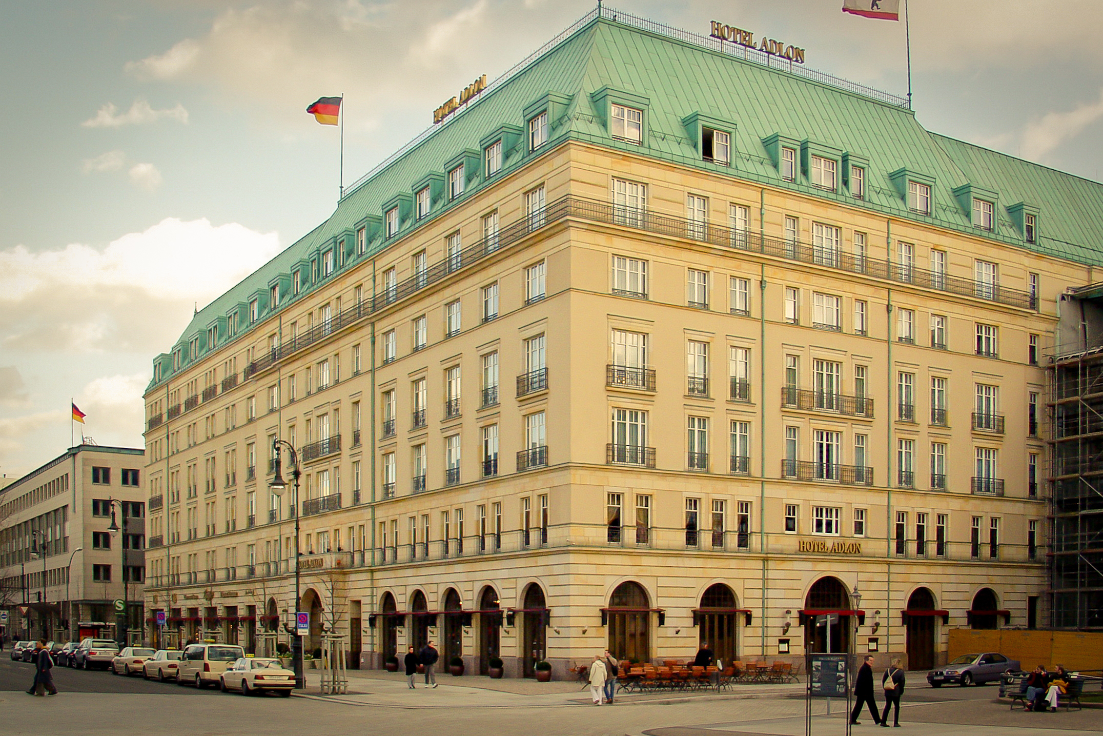 The Hotel Adlon in Berlin - image via  Google .