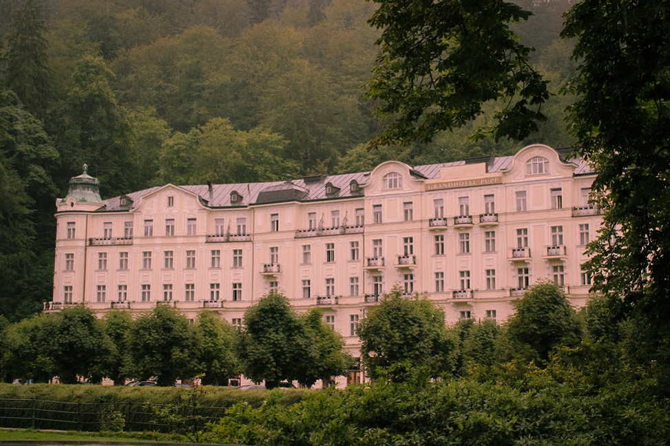 The Grandhotel Pupp in Karlovy Vary - image via  Google .