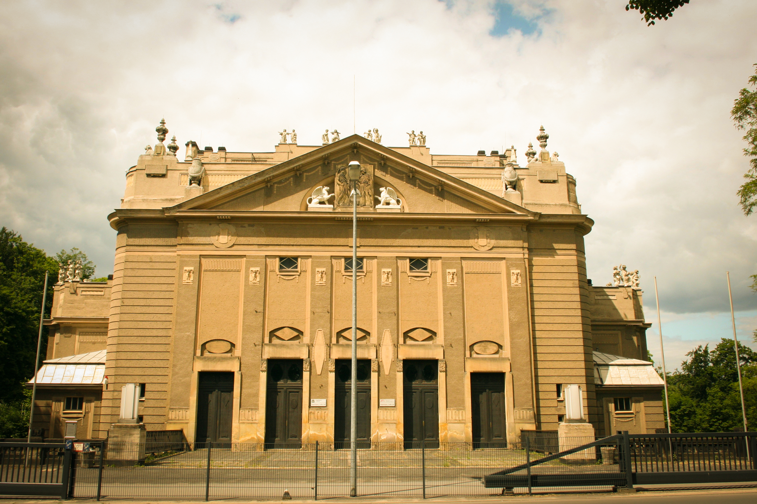 The Stadthalle - image via  Google .