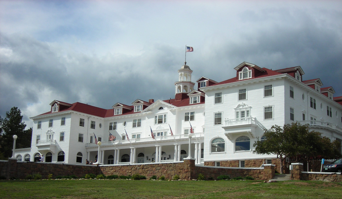 The Stanley Hotel - image via  Google .