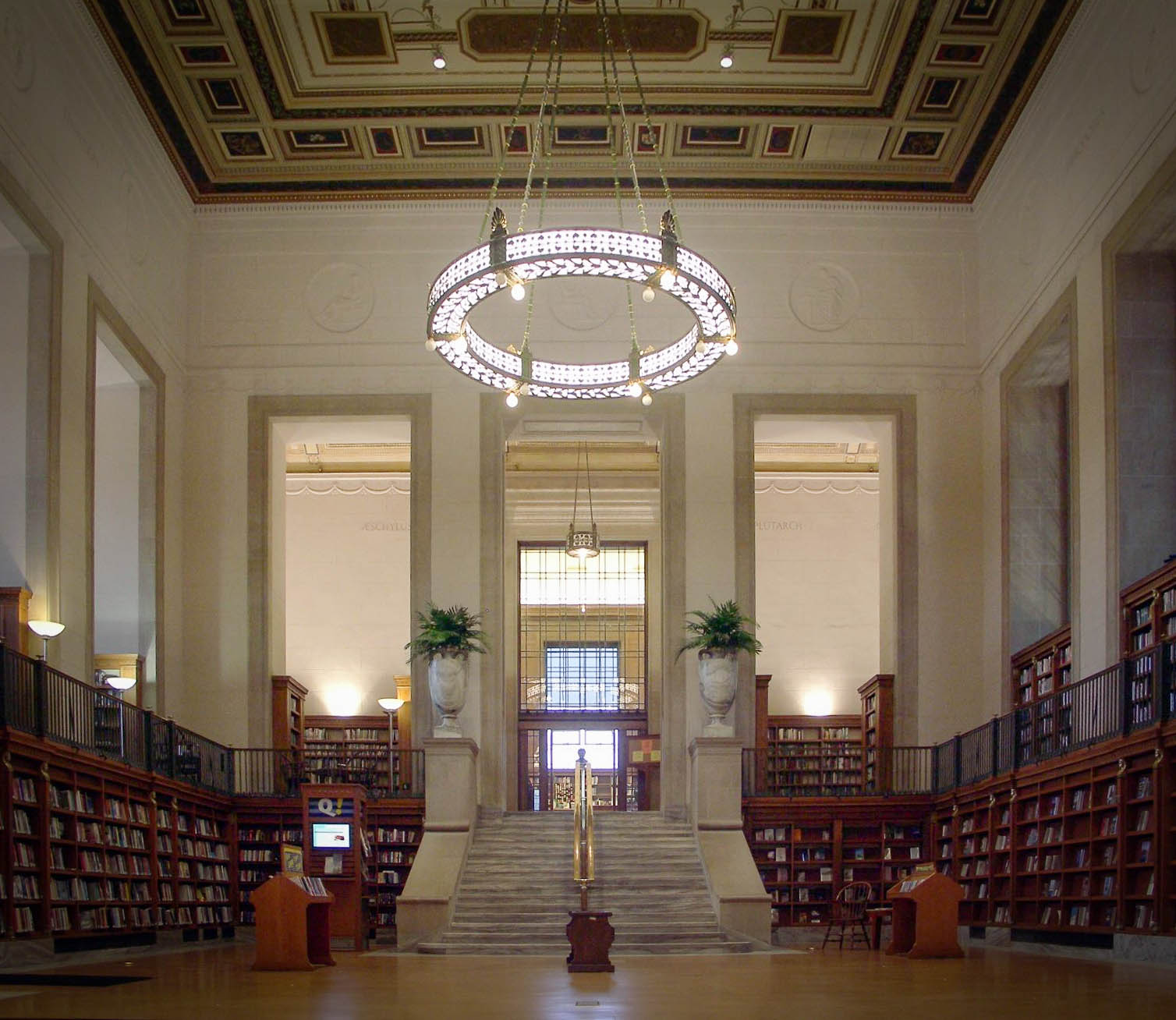 The Simon Reading Room of the Central Library.