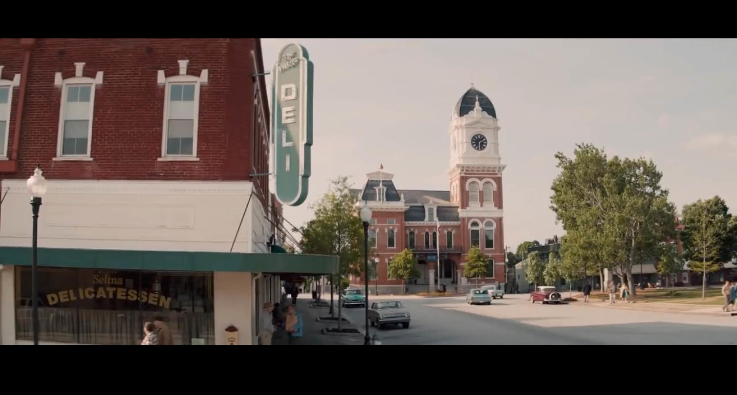 Screenshotof  Selma  - though the actual film location might be in Covington, Georgia.