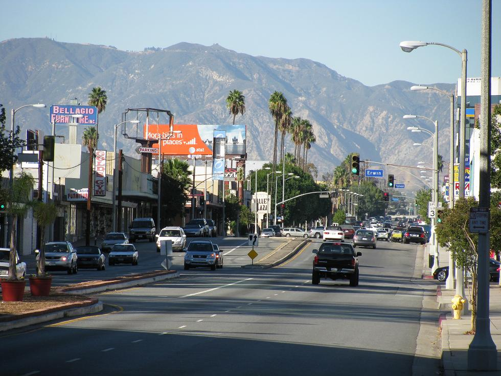 Laurel Canyon Boulevard - photo via  Flickr .