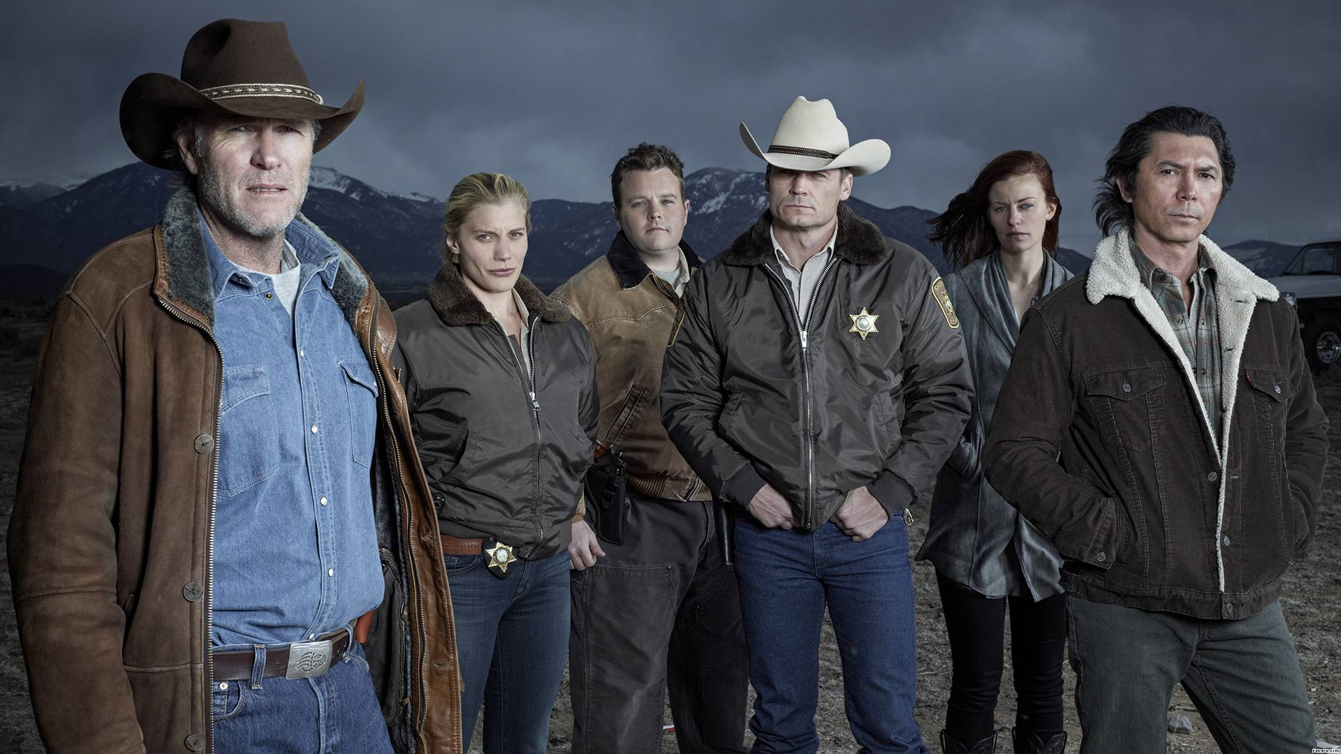 The talented cast from  Longmire  - image via  Google .