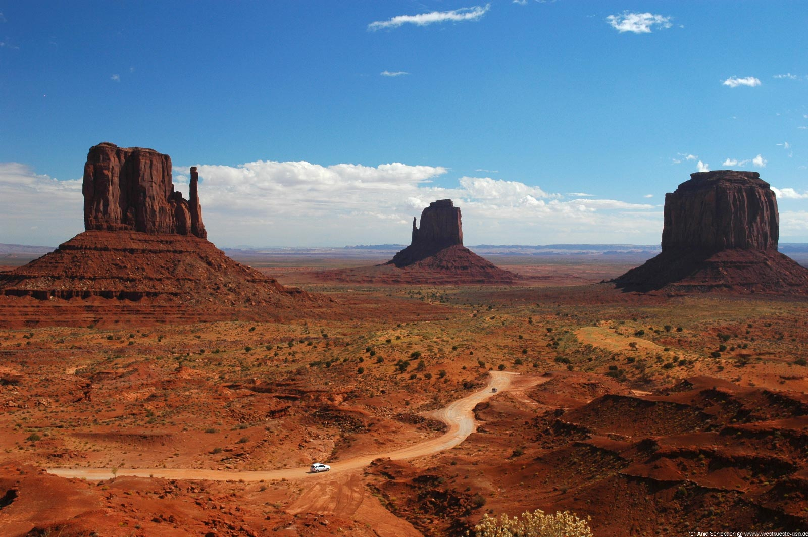 Monument Valley in Utah, a timeless, iconic film location made famous by John Ford - image via  Google .