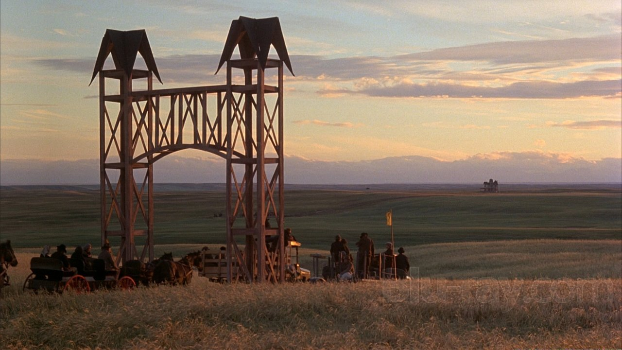 Production still from  Days of Heaven  (filmed mainly in Alberta, Canada) - image via  Google .