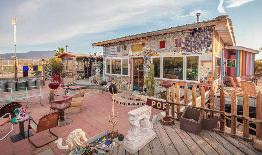 FEATURED LOCATION: The Tile House in Twentynine Palms, California ...